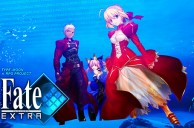 PSP game, Fate/Extra, based on Nasu Kinoko's visual novel Fate/Stay Night getting an NA release this year.