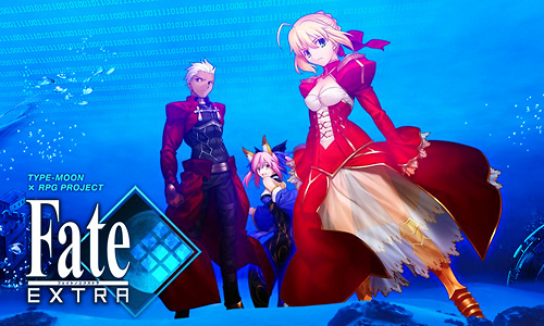 PSP game, Fate/Extra, based on Nasu Kinoko&#8217;s visual novel Fate/Stay Night getting an NA release this year.