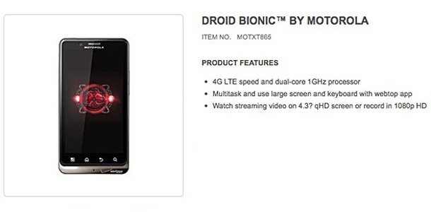 Improved Droid Bionic Releasing September 8