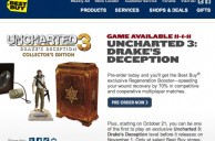 Clever, Best Buy allows players to play Uncharted 3 early if they Pre-Order