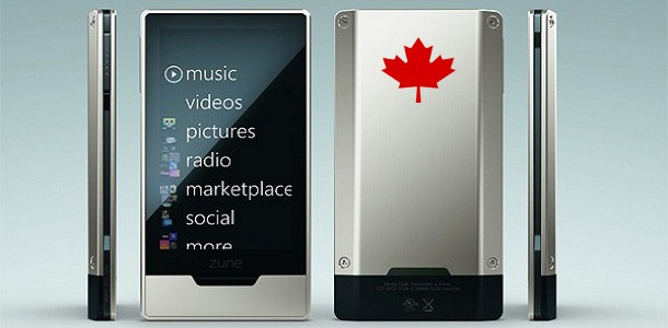 Zune Music Marketplace Appears in Canada Today