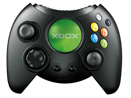 The original Xbox controller is notable for being the first controller    Original Xbox Controller Size
