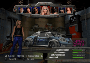 513618-wwe-crush-hour-playstation-2-screenshot-choosing-the-vehicle