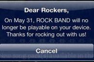 EA to Shut Down Rock Band for iOS and Leave Users in the Dark