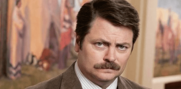 Humpday Bump: Ron Swanson Edition
