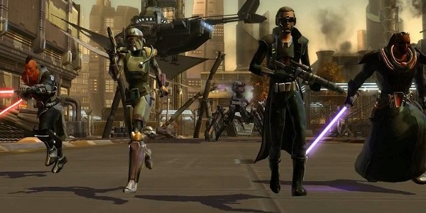 Star Wars: The Old Republic is going free to play