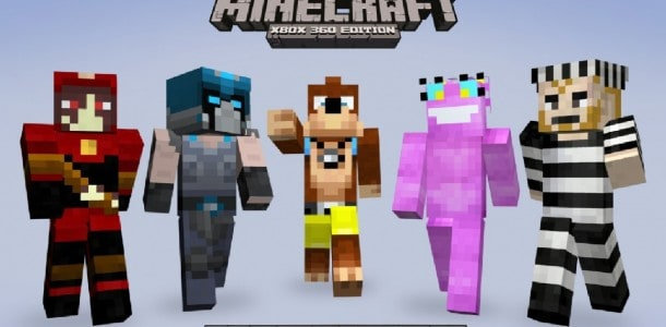 Minecraft: Xbox 360 Skin pack 2 released this week