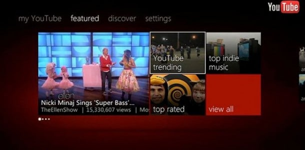 YouTube for Xbox 360 gets updated finally