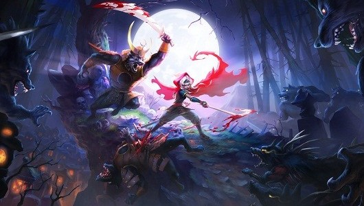 Akaneiro is American McGee's take on Little Red Riding Hood