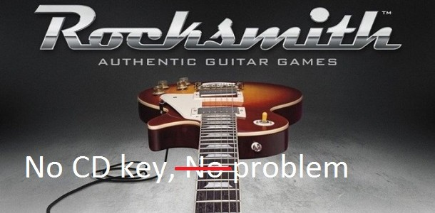 Rocksmith for PC is shipping without CD keys and Ubisoft says wait