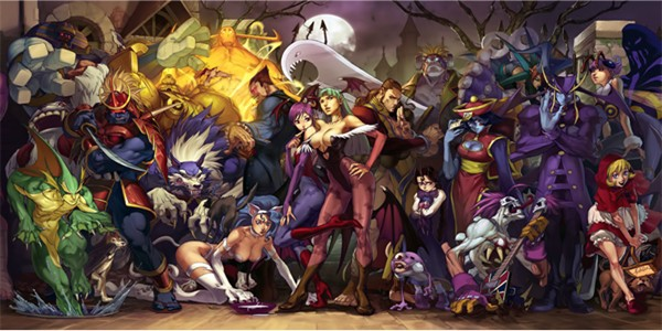 Darkstalkers 1 and 3 coming to PSN, XBLA as HD Darkstalkers Resurrection