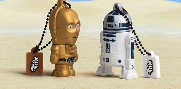 New official Star Wars USB flash drive collection
