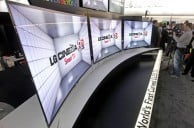 LG unveils their latest curved OLED display at CES2013