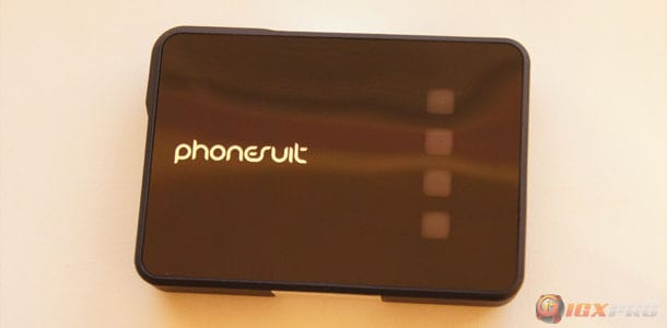 PhoneSuit Power Core Review – Portable Battery Charger