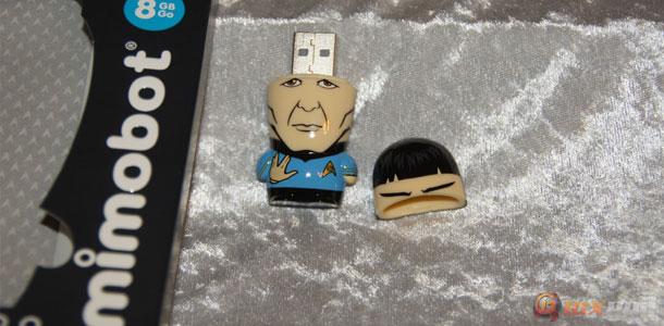 Spock 8GB Mimobot Giveaway! – AKA FREE STUFF!