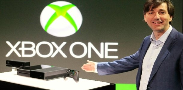 If he treats his wife the way he treats his consumers, I imagine showing off the Xbox One isn't the only thing Mr. Mattrick needs that hand for...