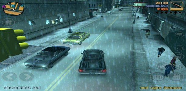 Grand Theft Auto III is one of the games Take-Two has distributed for mobile platforms