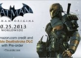 Arkham Origins will feature playable Deathstroke, Kevin Conroy will reprise role as Batman